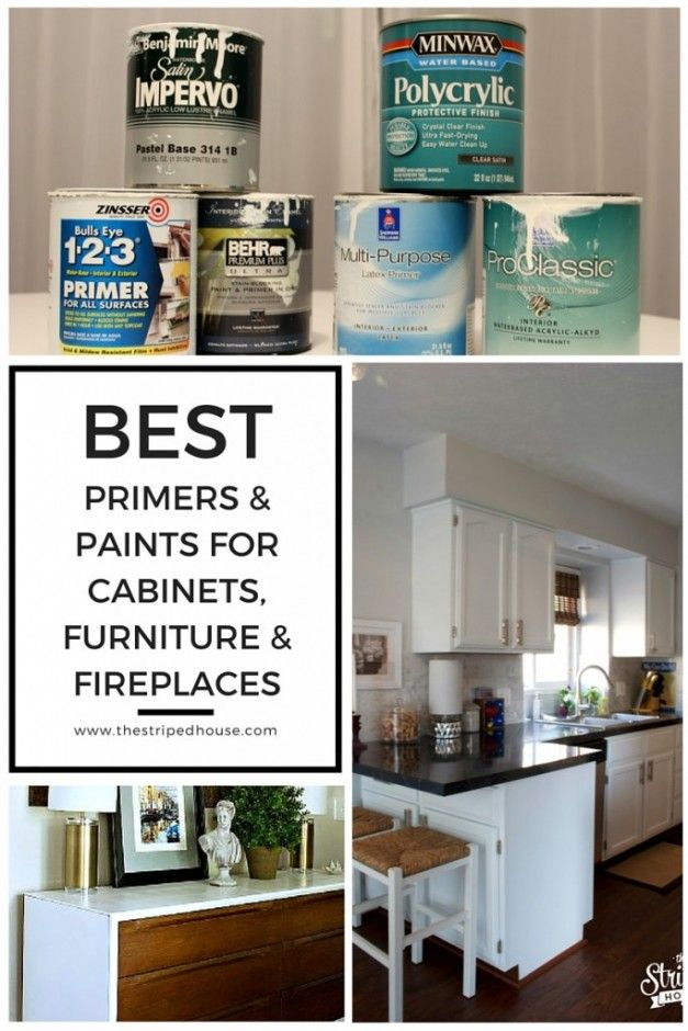 BEST PRIMERS U0026 PAINTS FOR CABINETS, FURNITURE U0026 FIREPLACES