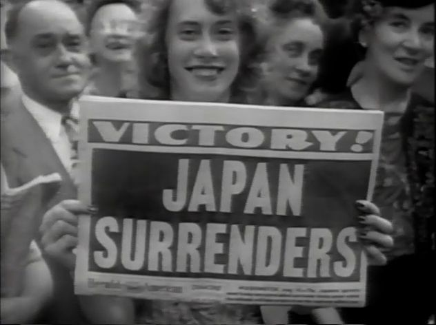 victory over japan, images | ... an old broadcast of the Victory ...
