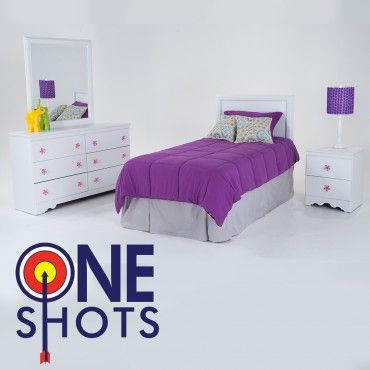 Jasmine 4 Piece Twin Youth Bedroom Set Riah\u0027s room Pinterest - Bobs Furniture Bedroom Sets