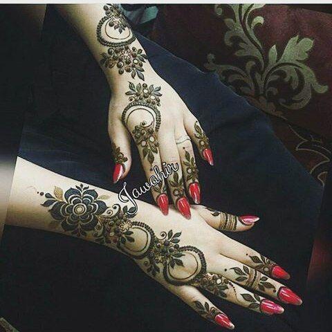 Pin By Azra On Henna Mehndi Henna Mehndi Bridal Mehendi Designs Hands Henna Patterns