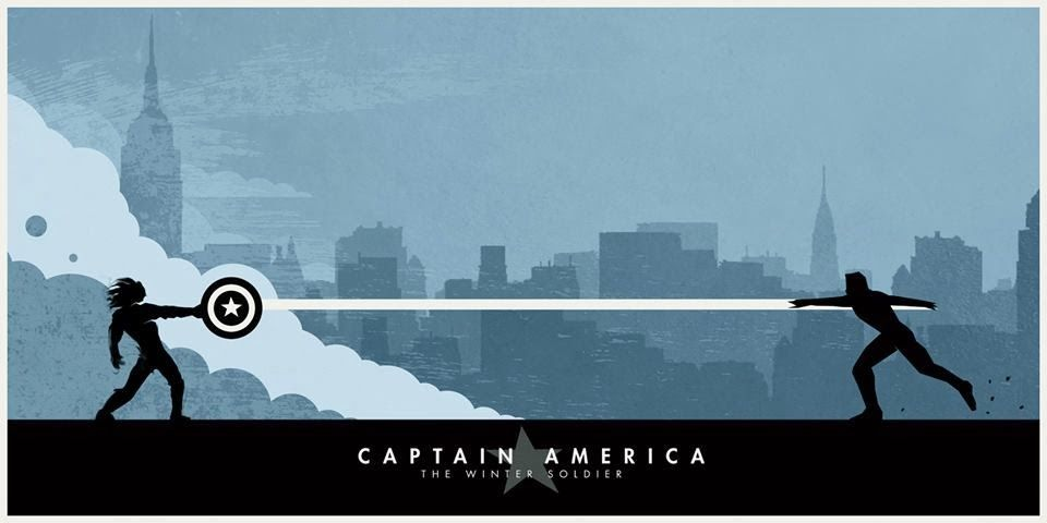 Fashion and Action: New Captain America: Winter Soldier Posters by ...