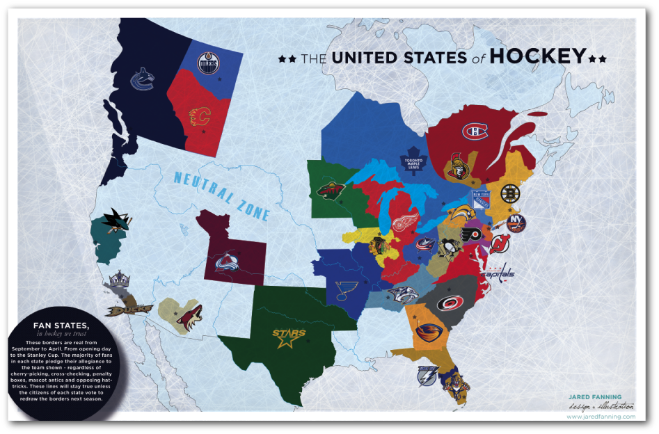 And the nhl map of the us and canada hockey love pinterest d the nhl map of the us and canada gumiabroncs Image collections