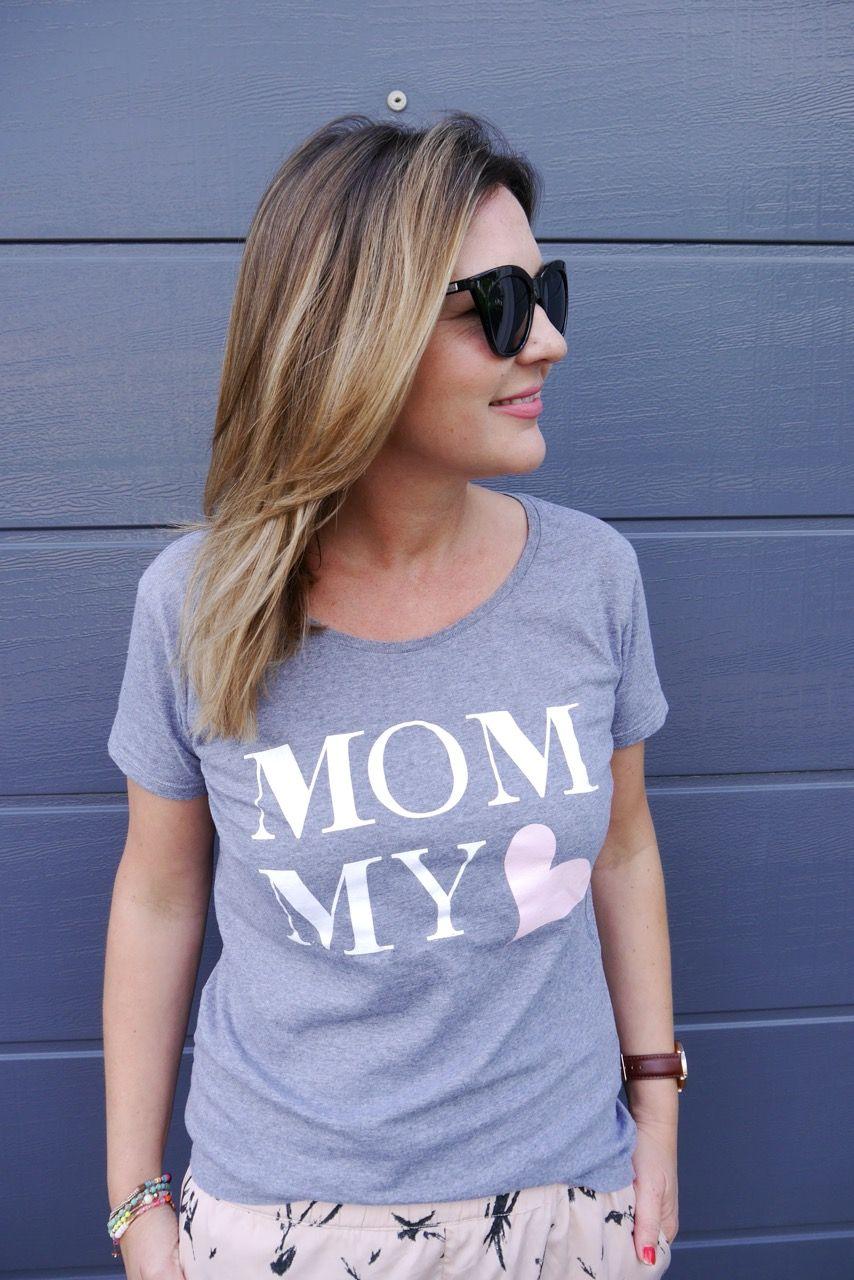 Mom Shirt // MOMMY Shirt Minimenschlein.de/Shop