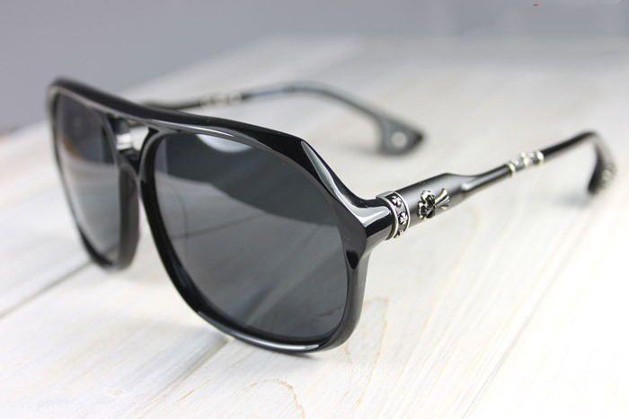 44d1180e2c21 CHROME HEARTS BOX LUNCH Black Glasses Eyewear Sunglasses Shade NEW Unisex