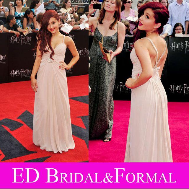 Ariana Grande Rosa Kleid-berühmtheits-abend Abschlussball-formale ...
