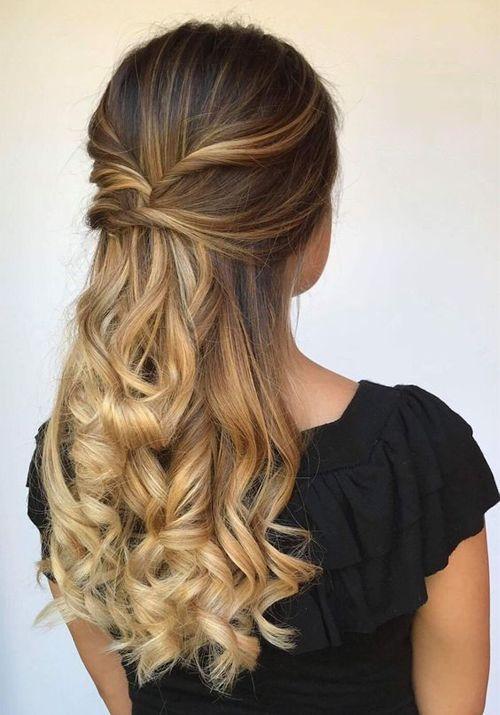 Top 10 der meistgesuchten langen Prom-Frisuren 2019, die einfach wunderschön sind #promhairstyles