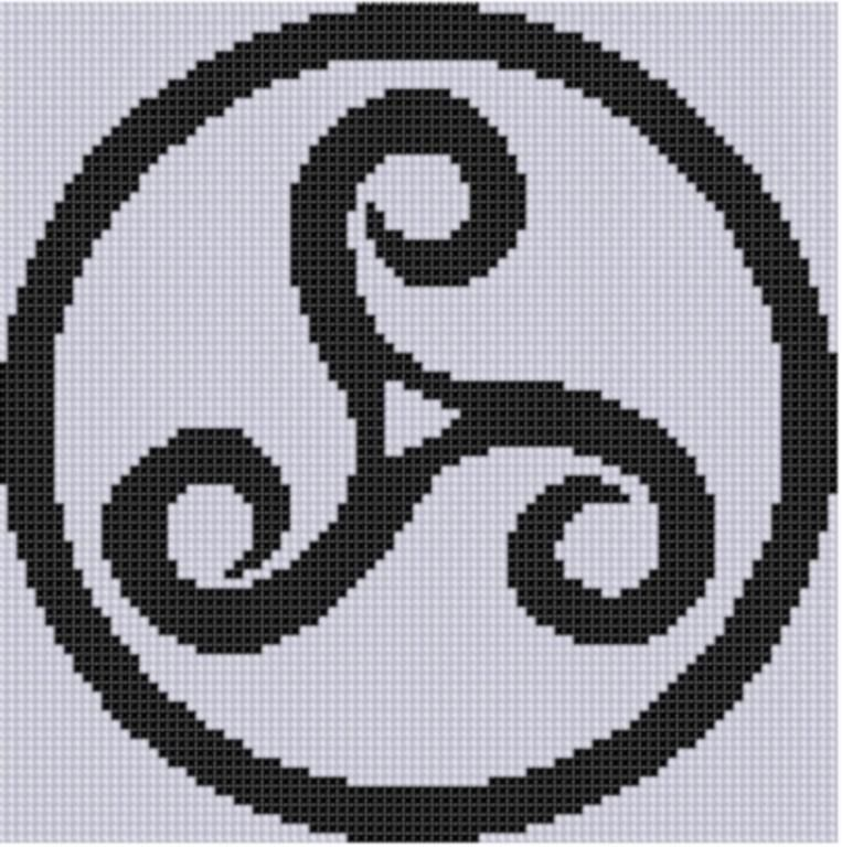 Celtic Pattern Cross Stitch Pattern | Punto de cruz, Celta y Puntos