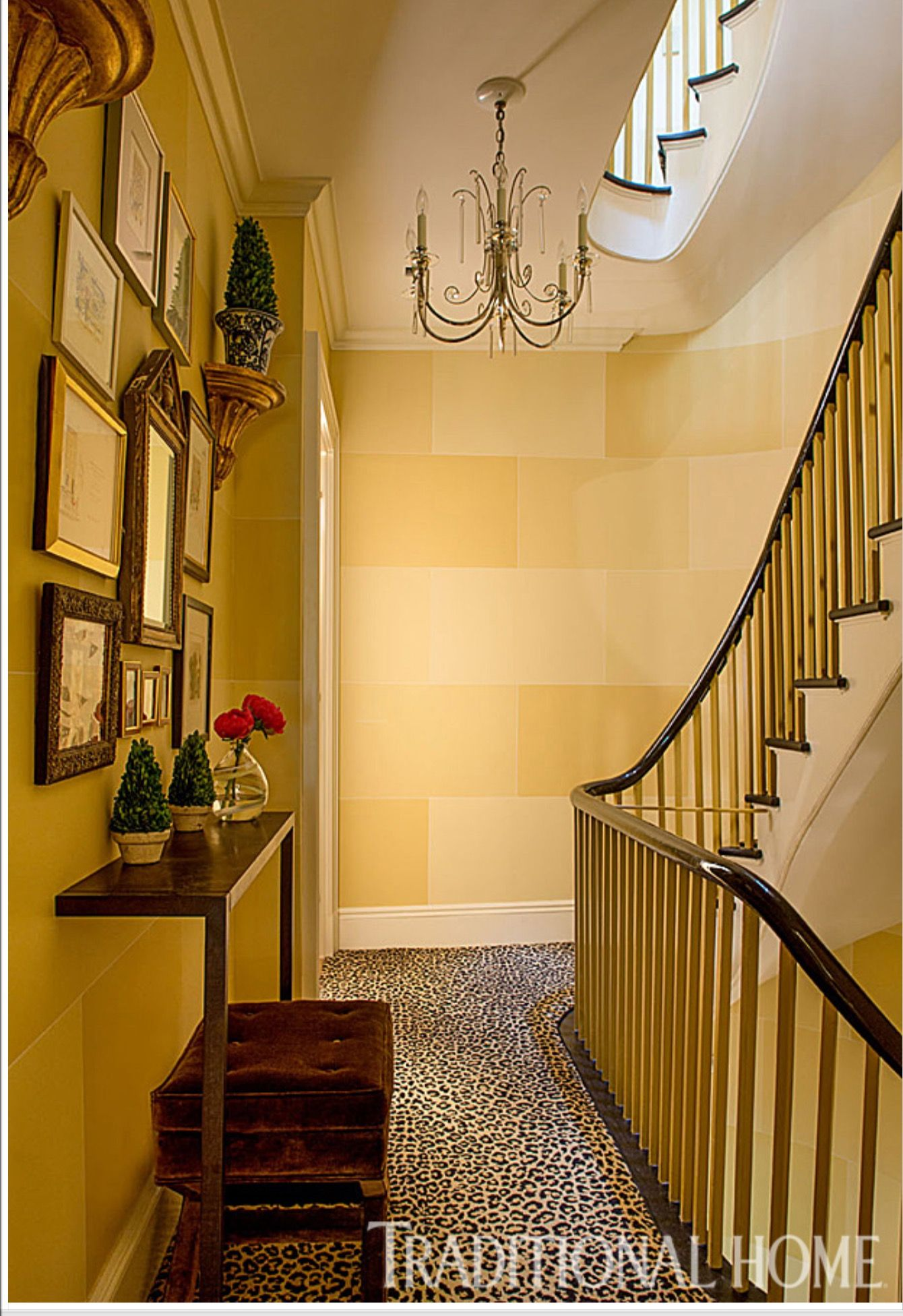 Wall paint treatment is fabulous! | Ways with Walls | Pinterest ...