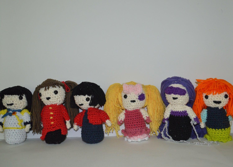 Amigurumi Doll Anime : Custom amigurumi doll anime character doll custom anime doll