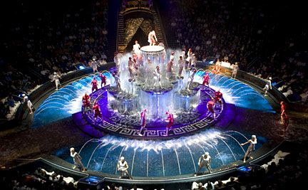 Le Reve A Visual Masterpiece At Wynn Las Vegas With Images
