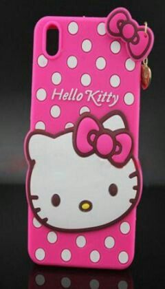 new style 33ed3 daeb6 lenovoS850 cute hello kitty silicone Back case cover   Designer ...