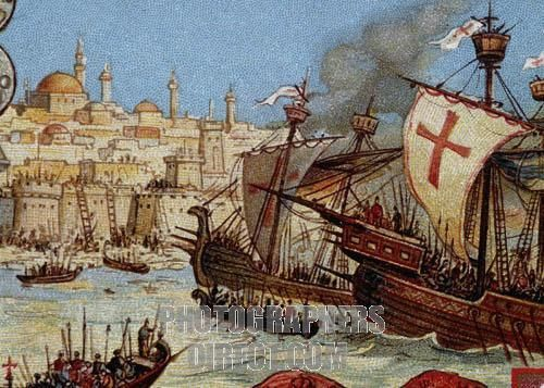 the fourth crusade to constantinople essay In the years 1203 and 1204, the fourth crusade was diverted from its intended destination of egypt, first to the christian city of zara and then.