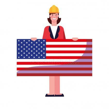 Flat design people happy labor day - Stock Vector , #AD, #people, #happy, #Flat, #design #AD #happylabordayimages Flat design people happy labor day - Stock Vector , #AD, #people, #happy, #Flat, #design #AD #happylabordayimages