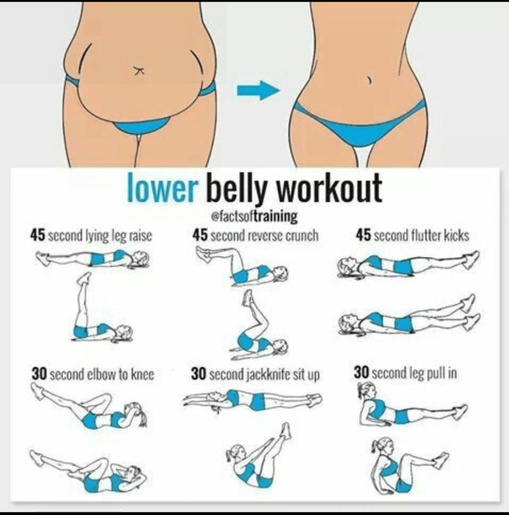 Lower Belly Workout |Exercise