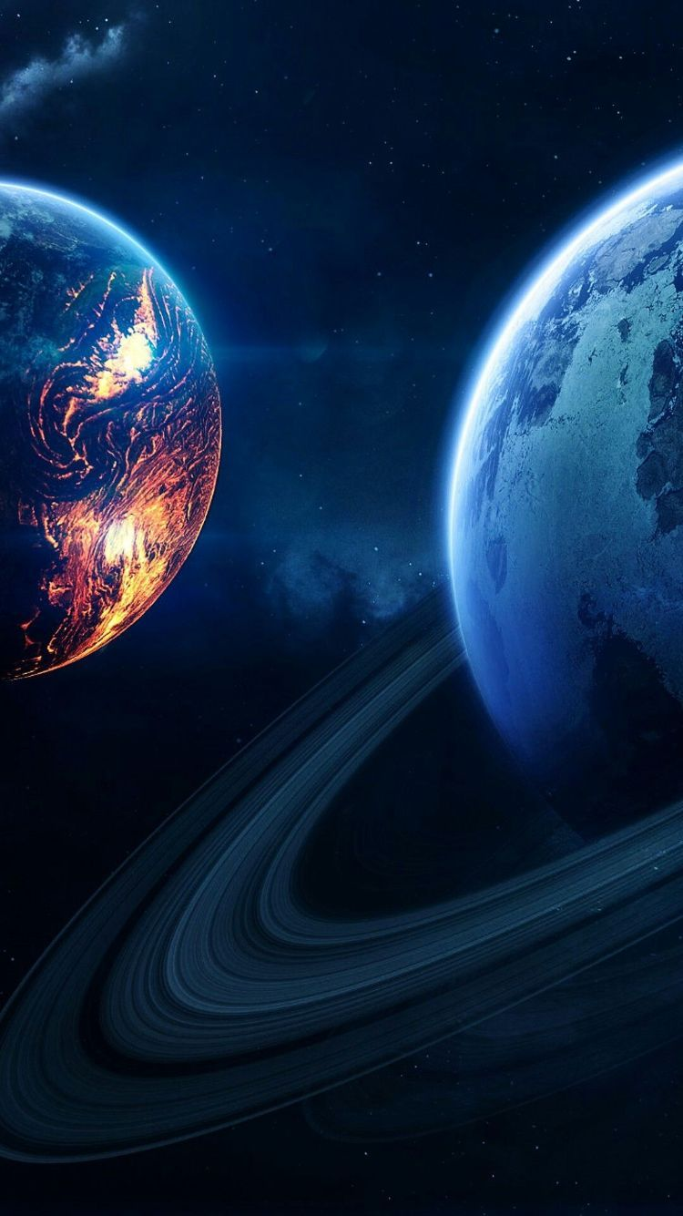The Best Wallpapers Space Phone Wallpaper Space Artwork Planets Wallpaper