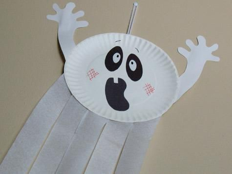 Paper Plates A Perfect Halloween Craft Supply! & Paper Plates: A Perfect Halloween Craft Supply! | Craft Streamers ...