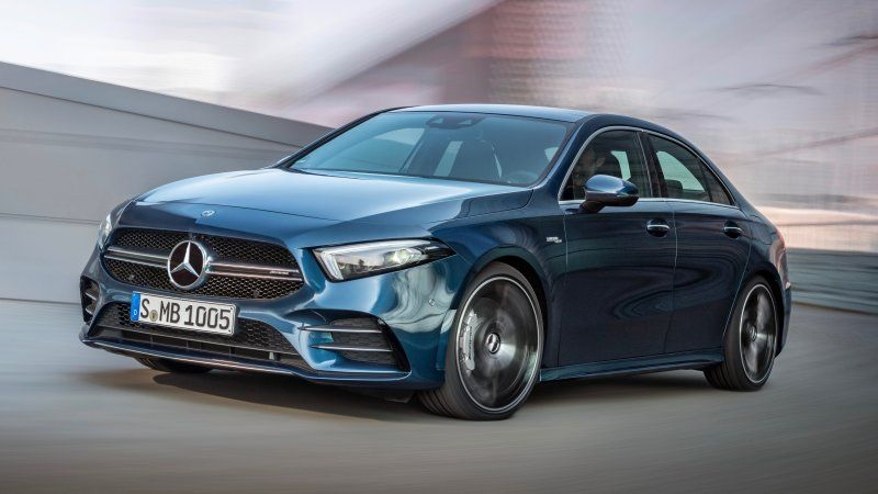 2020 Mercedes Amg A 35 Revealed With Over 300 Horsepower Mercedes Amg Sports Cars Luxury Amg