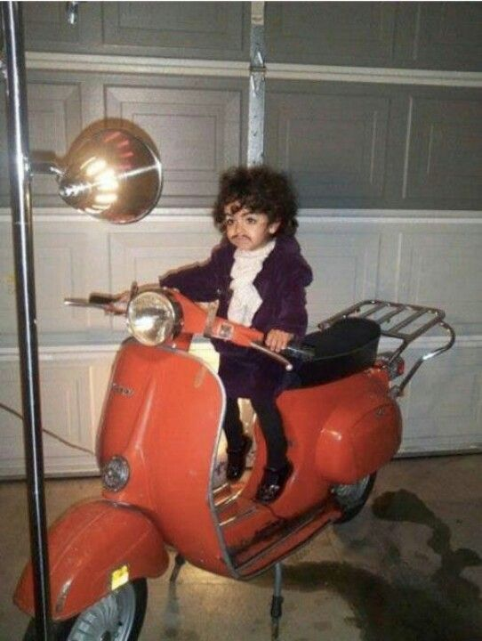 Prince in his younger years.