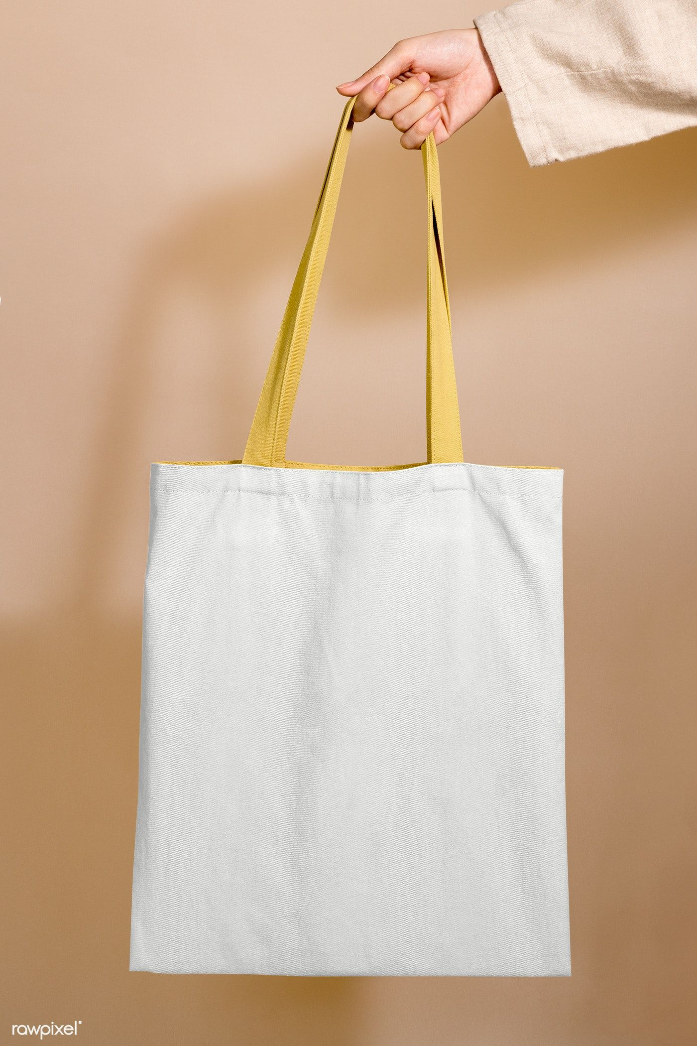 Download Woman Holding A Tote Bag Mockup In Her Hand Free Image By Rawpixel Com Jira Bag Mockup Design Mockup Free Tote Bag