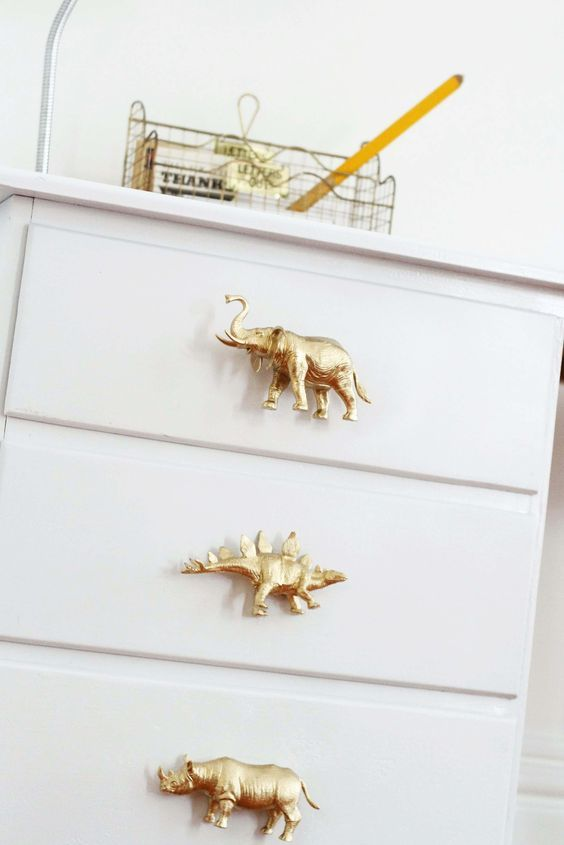 How To Make DIY Drawer Pulls from Just About Anything #diyinterior