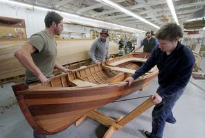 Northwest School of Wooden Boatbuilding. | Wooden Boats | Pinterest ...