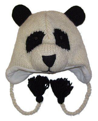 55019a11c57dd Panda Beanie!!  lt 3 Animal Hats