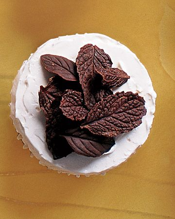 Chocolate-Mint Cupcakes  by the one and only Martha Stewart