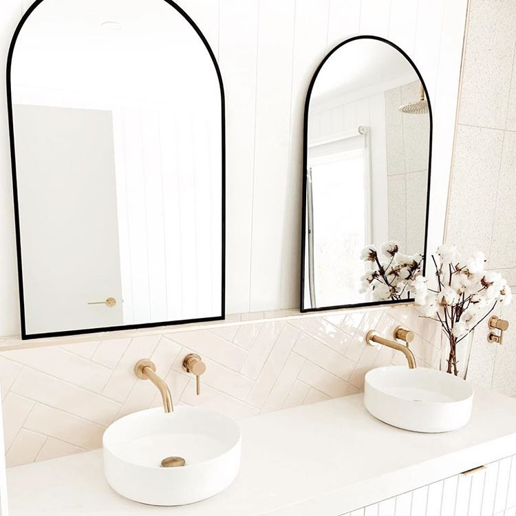 Styled By Thebushfieldreno Showcasing The Kmart Arch Minors Love Everything About This Stunning Bathroom Bathroom Inspiration Bathroom Interior Design Home