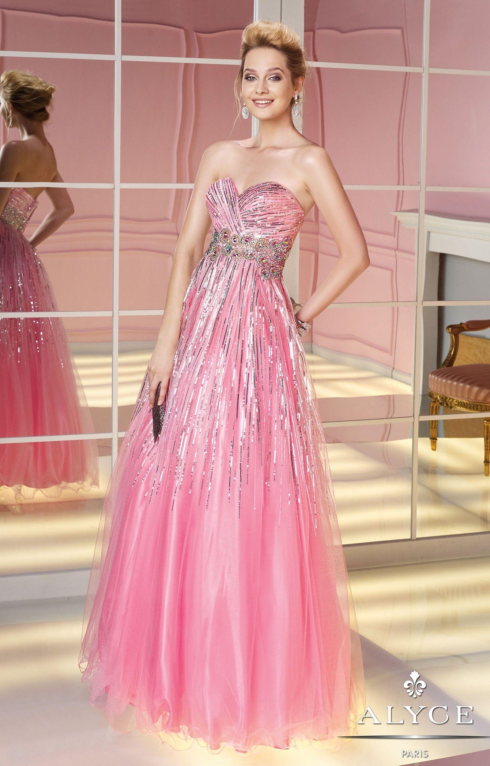 Alyce Paris - 6201 $279.99 Alyce Paris | wedding dress with sleeves ...
