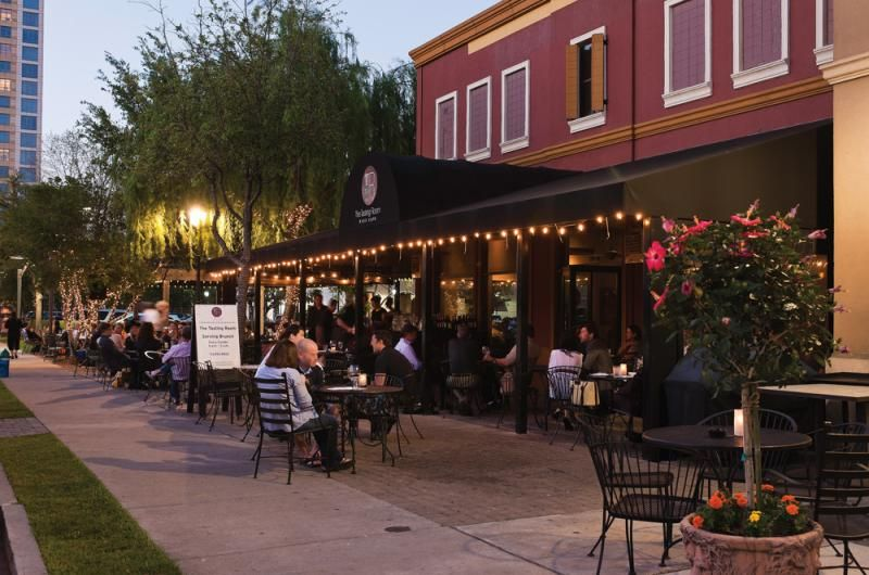 The Restaurants With Beautiful Patio Dining Areas Is Just One Reason Many  Houstonians Enjoy Dining In