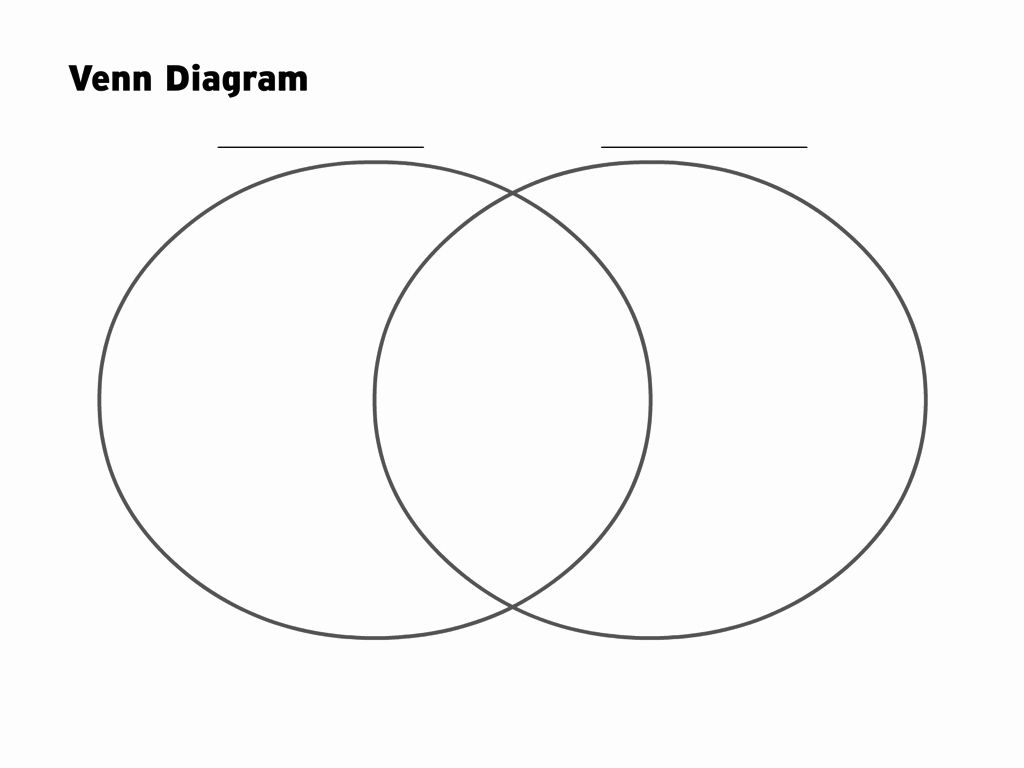 Venn Diagram To Print In