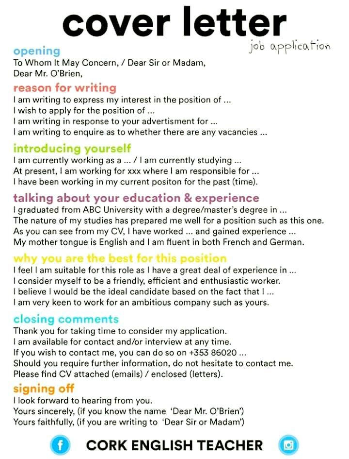 Cover letter writing The Real World Pinterest Resume, Cover