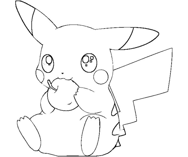 Pokemon Pikachu Coloring Pages Above For You Are Like Quoteko