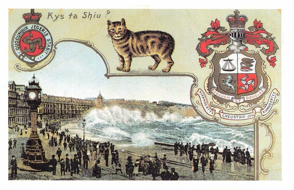 retweet postcards Nostalgia Postcard Douglas, Isle of
