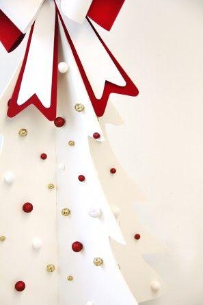 DIY Foam Core Faux Christmas Tree Christmas tree, Christmas