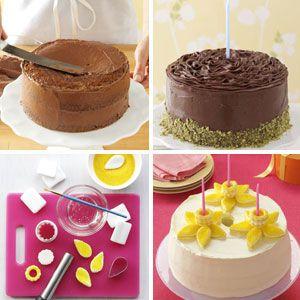 birthday cake decorating ideas - Decorating Cakes