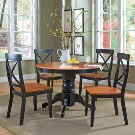 Home Styles�Cottage Oak/Black Dining Set