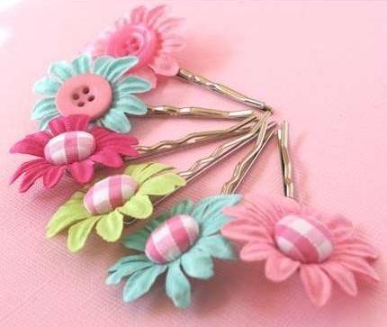 Hair accessory craft ideas hair pin craft you will need a hair accessory craft ideas hair pin craft you will need a small button flowerssilk mightylinksfo