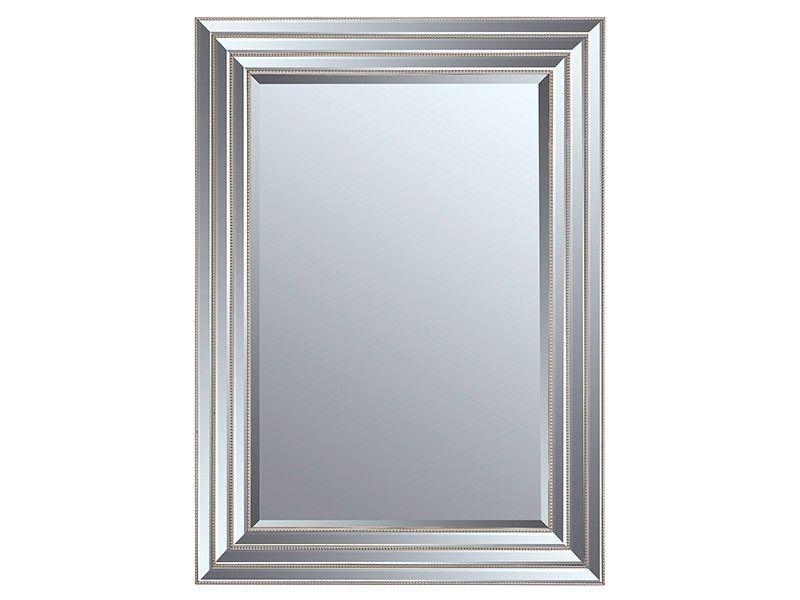 Espejo con marco biselado plata | Espejos | Pinterest