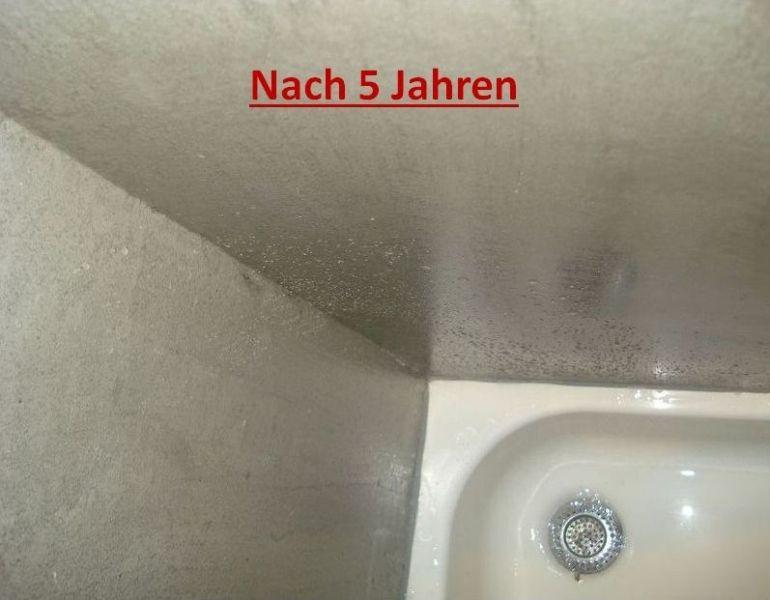 Erfahrungsbericht Fugenlose Dusche Nach 5 Jahren Keine Schmutzigen Fugen Mehr Badgestaltung Ohne Fliesen Fugenlose Dusche Fugenloses Bad Bad Renovieren Ohne Fliesen