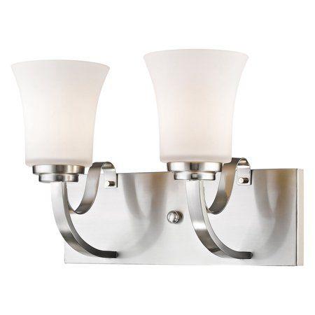 Photo of Z-Lite 7000-2V Halliwell 2 Light 14″ Wide Bathroom Vanity Light – Walmart.com