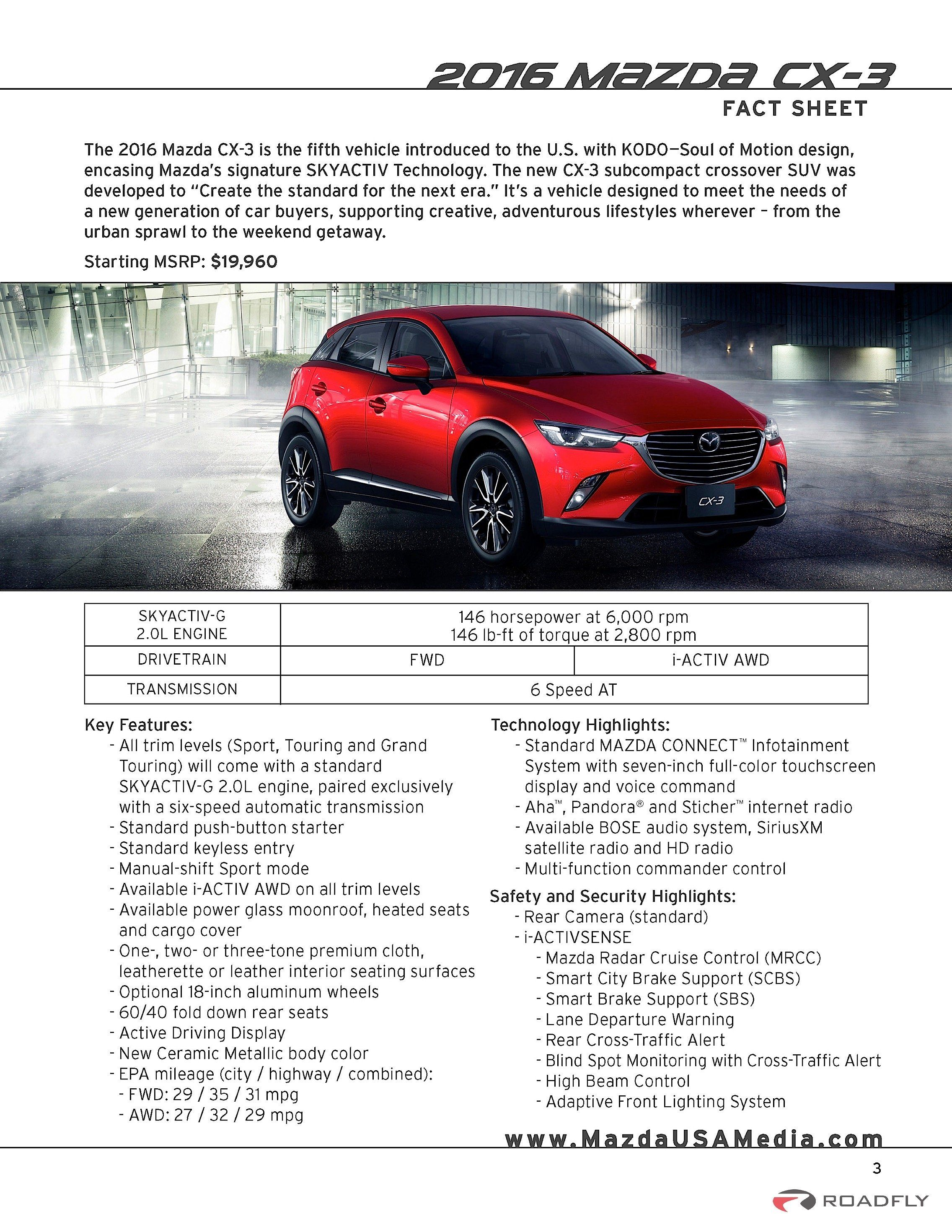 2016 mazda cx 3 specs overview presentation roadfly com car reviews presentationwebsiteroadsmazdahtmlcar