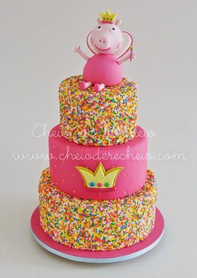 ... bolo de aniversário da peppa pig. Carregando zoom.