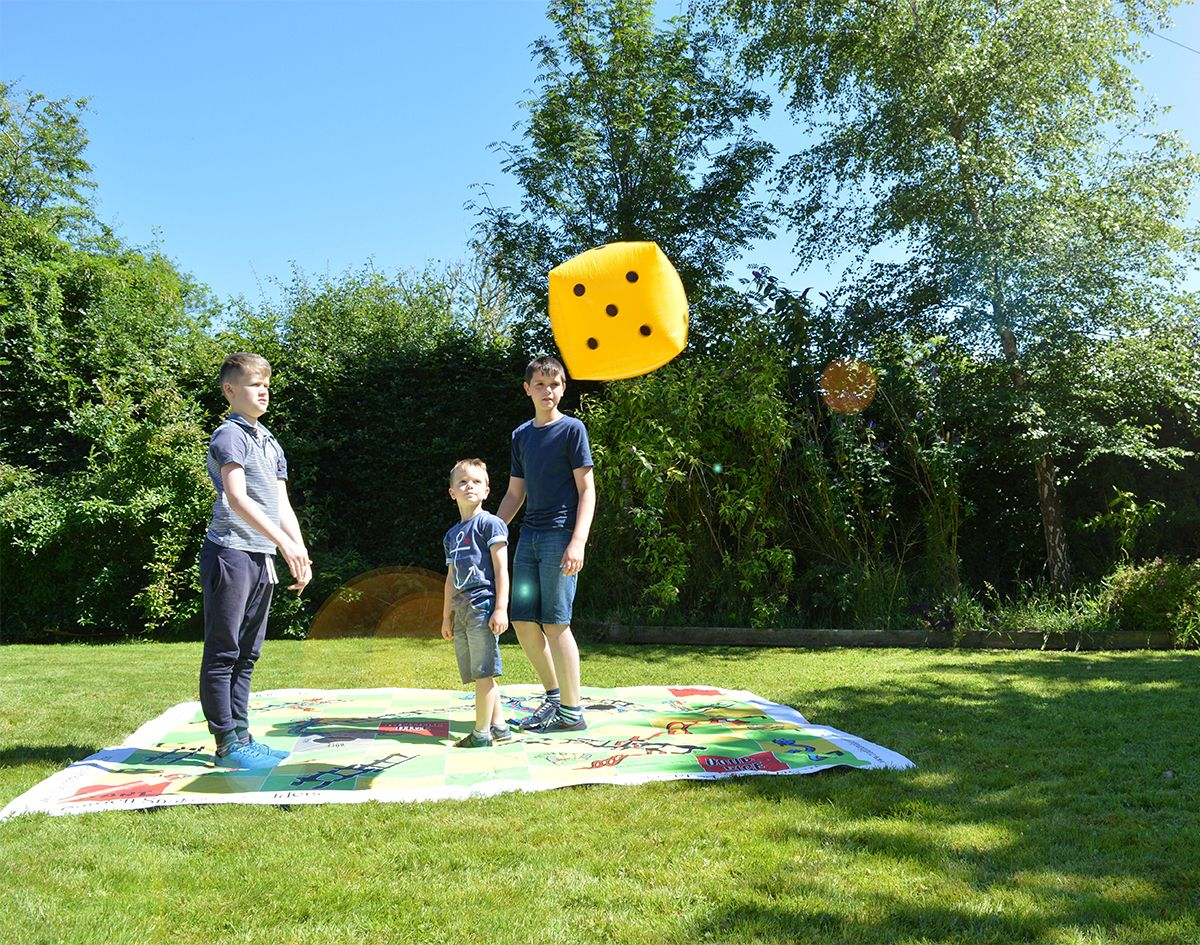 Traditional Garden Games Giant Snakes and Ladders 3m x 3m