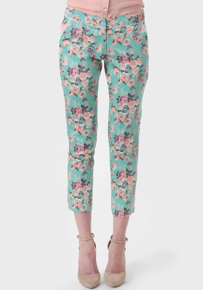 June Blossom Cropped Pants