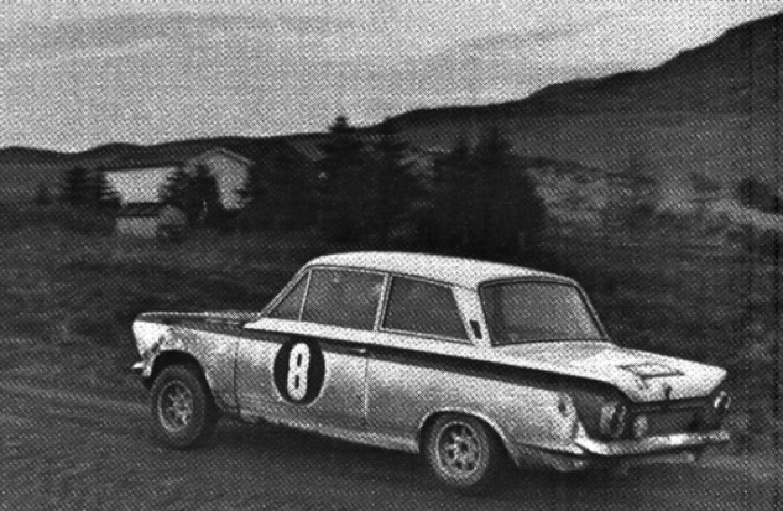 1966 RAC Jim Clark Lotus Cortina Clarks F1 Rally