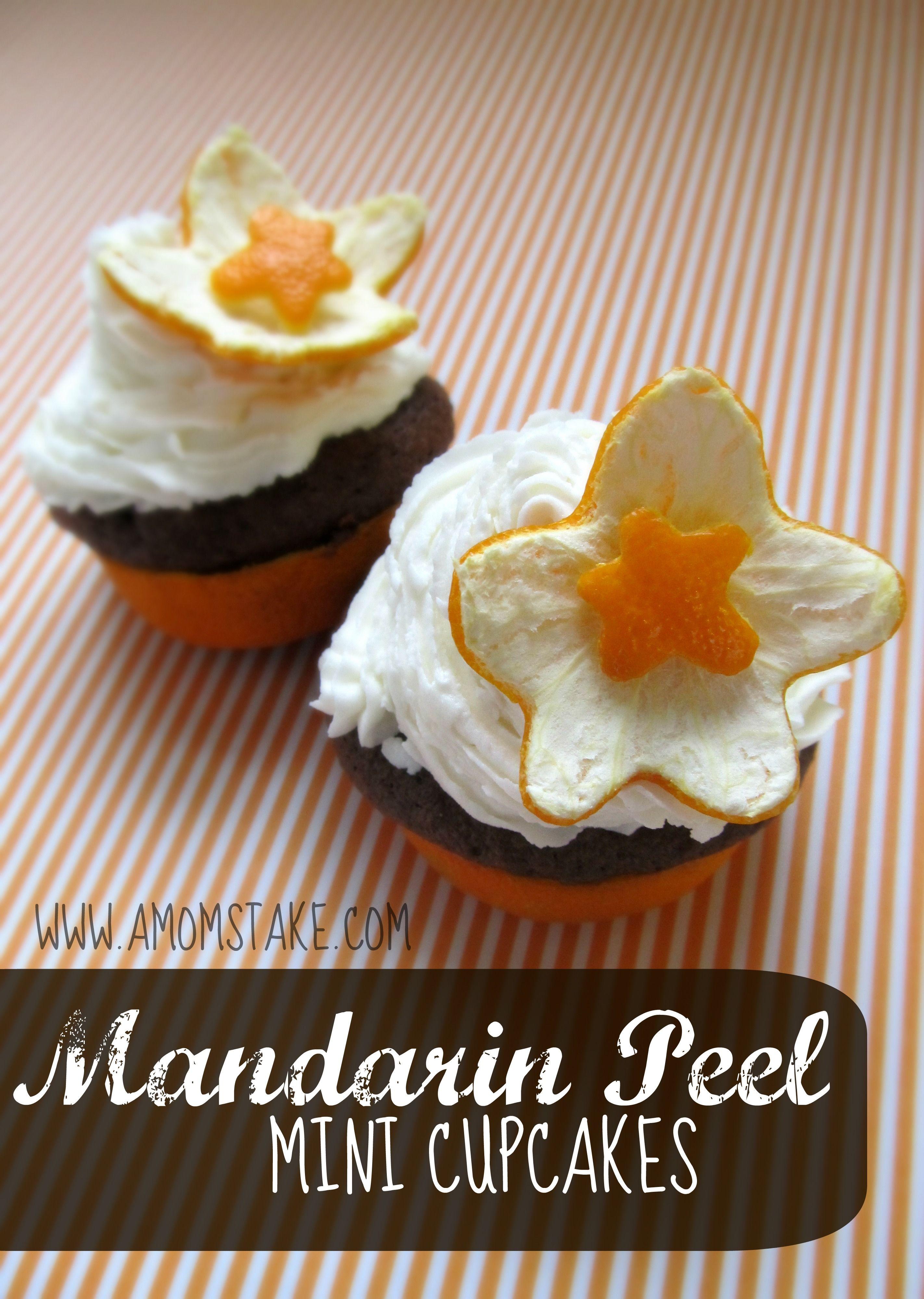 Mandarin Peel Mini Cupcakes | Recipe | Mini cupcake ...