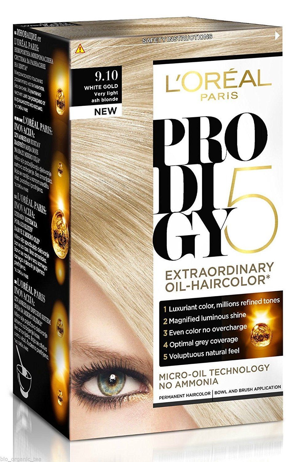 Loreal Prodigy Permanent Hair Colour Micro Oil Technology No