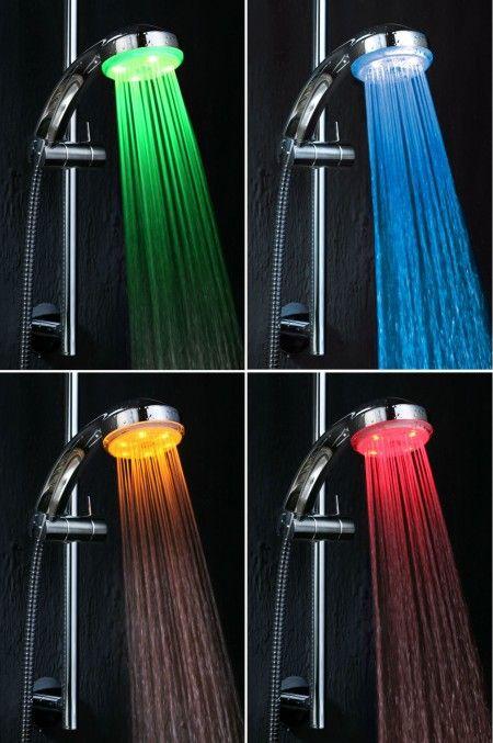 Pommeau De Douche Led Shower Heads Led Shower Head Rainbow Colors