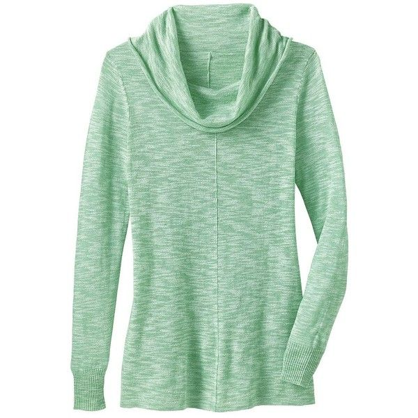 Lightweight Cowlneck Sweater ($31) ❤ liked on Polyvore featuring ...